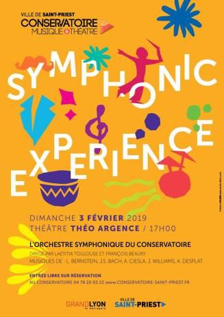 affiche - symphonic experience